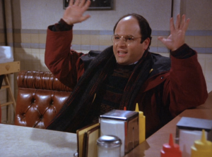 The all-knowing George Costanza